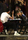 Ashley Benson and G-Eazy enjoy a romantic al fresco dinner in Los Feliz, California