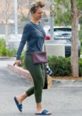 Kaley Cuoco dresses down in sweats while making an early trip at her local Erewhon market in Calabasas, California