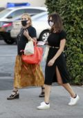 Katharine McPhee enjoys an al fresco dinner at Il Pastaio in Beverly Hills, California