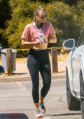 Maria Sharapova steps out for a hike with boyfriend Alexander Gilkes in Malibu, California