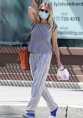 Sienna Miller keeps things casual as she grabs some Dunkin' donuts in New York City