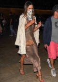 Alessandra Ambrosio steps out for dinner with her ex Jamie Mazur at Nobu in Malibu, California