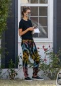 Alessandra Ambrosio seen outside Culver City Urgent Care in Los Angeles