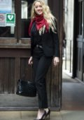 Amber Heard seen arriving at the Royal Courts of Justice in London, UK