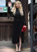Amber Heard seen outside the Royal Courts of Justice in London, UK