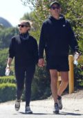 Ashley Benson and G Easy hold hands while out for hike in Los Angeles