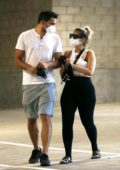 Bebe Rexha steps out with a mystery man to stock up groceries at Whole Foods in Los Angeles