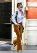 Bella Hadid goes casual chic as she steps out on the 04th of July in New York City