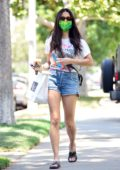 Jessica Gomes picks up some take-away from Joan's on Third in West Hollywood, California