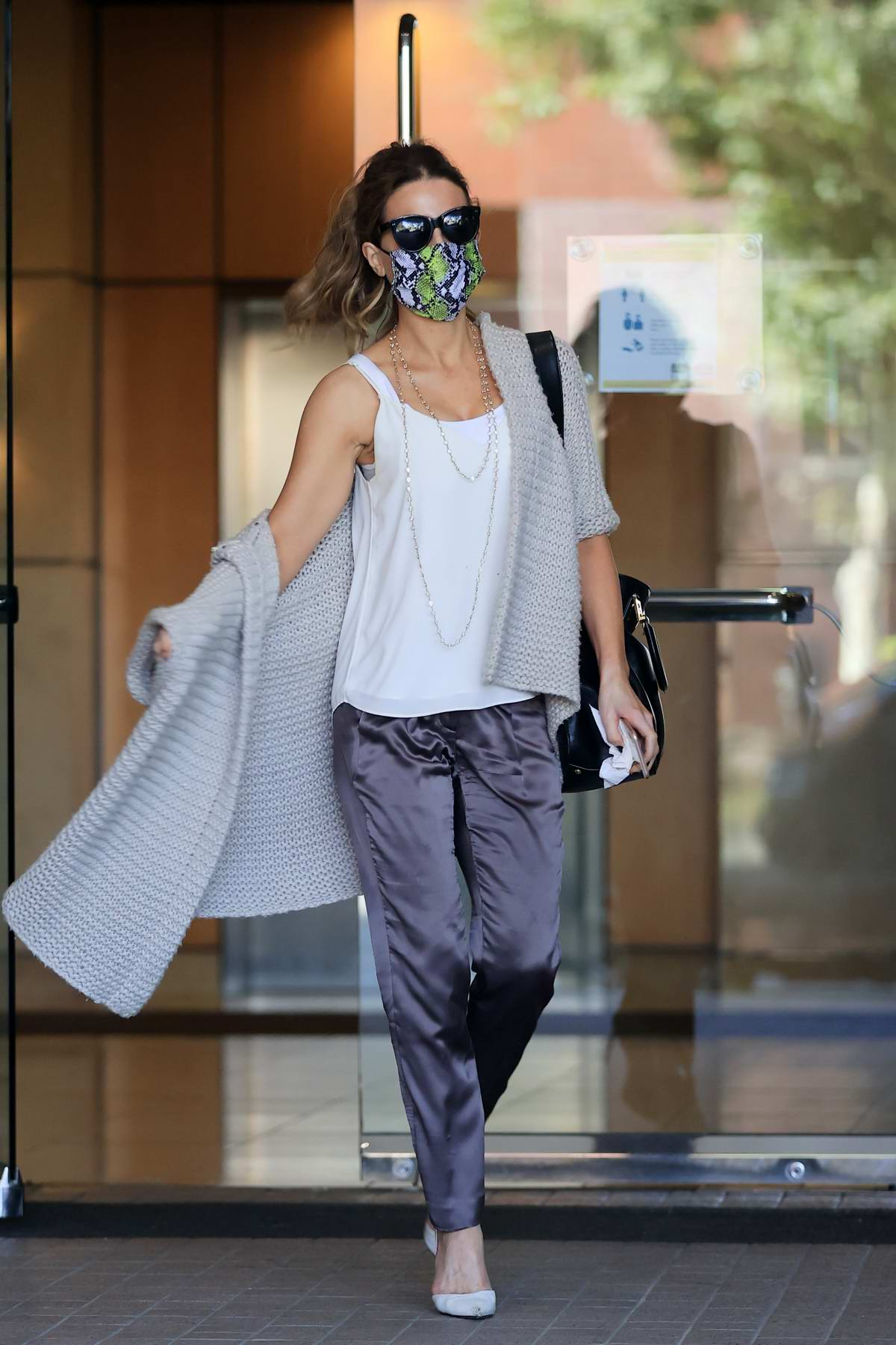 Kate Beckinsale puts on a stylish display during an outing with Goody Grace in Los Angeles