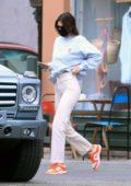 Kendall Jenner seen leaving Kate Somerville dermatologist in West Hollywood, California