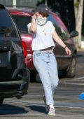 Kristen Stewart steps out with a friend for some shopping at Rite Aid in Los Feliz, California