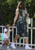 Kylie Jenner arrives for a luxurious getaway with Travis Scott and their daughter Stormi in Laguna Beach, California