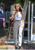 Madison Beer looks stylish as she steps out for some breakfast with a friend in Beverly Hills, California