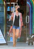 Nicky Hilton steps out for some shopping at Kitson Kids on Robertson Blvd in West Hollywood, California