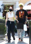 Noah Cyrus and new boyfriend Smokepurpp make a stop at Sunlife Organics in Calabasas, California
