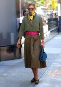Olivia Palermo looks stylish while running errands in Dumbo, Brooklyn, New York