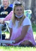 Sophie Turner and Joe Jonas go on a picnic with friends and family in Studio City, California