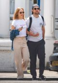 Suki Waterhouse and Robert Pattinson step out for a stroll in London, UK