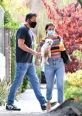 Ana de Armas and Ben Affleck move last of her things to his LA home, California