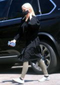 Ariel Winter spotted leaving a hair salon in West Hollywood, California