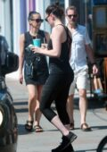 Daisy Ridley looks fit in tank top and leggings as she hits the gym in Notting Hill, London, UK
