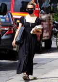 Dianna Agron gets a blood test done and shops for books while out in Downtown Manhattan, New York City