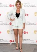 Emily Atack attends the 2020 British Academy Television Awards in London, UK