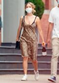 Jennifer Lawrence spotted for the first time in six months while out with Cooke Maroney in New York City