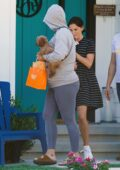 Katy Perry keeps a low profile while running errand with her puppy Nugget in Los Angeles