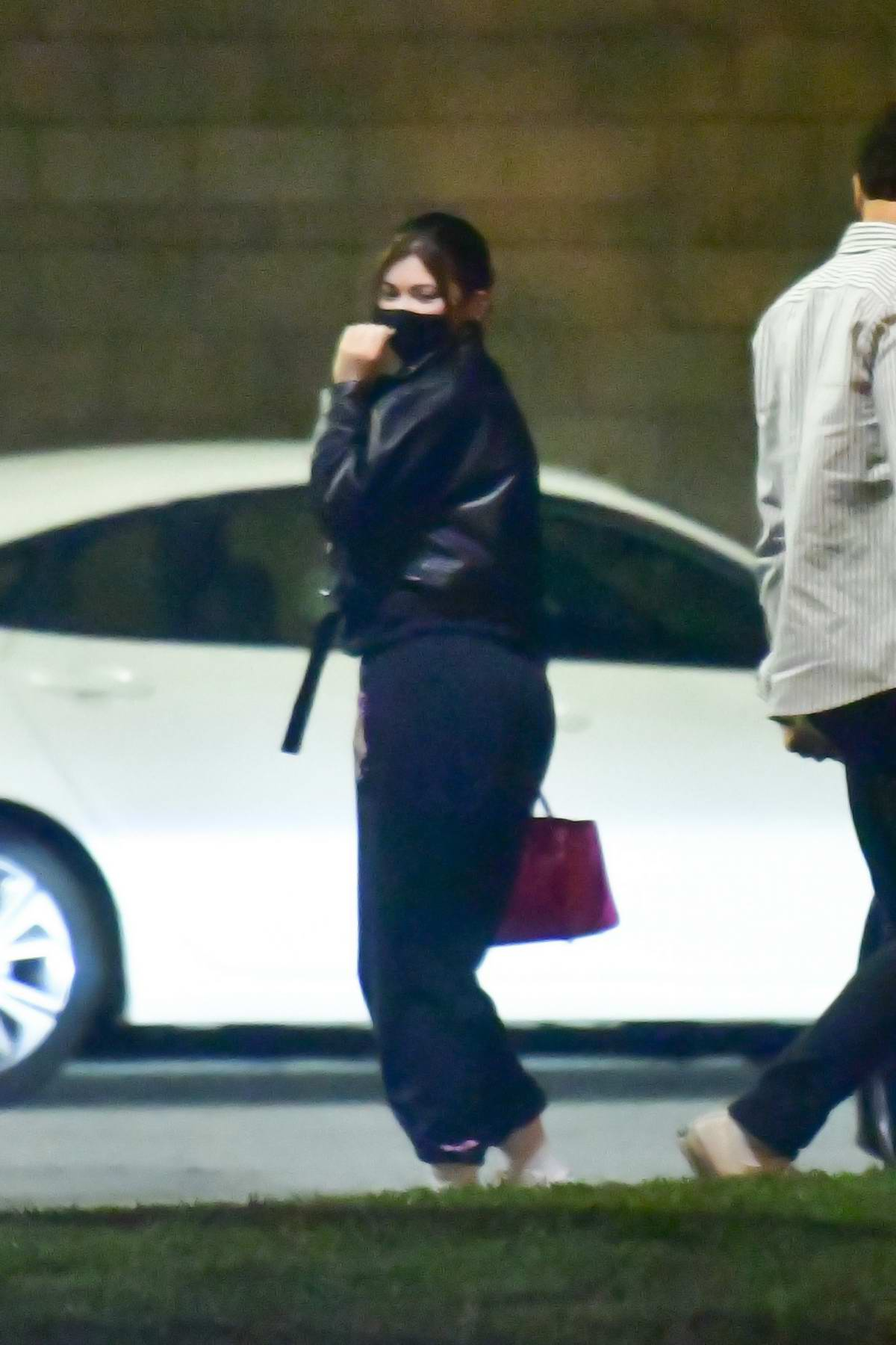 Kylie Jenner seen arriving from Paris in private terminal at LAX in Los Angeles