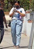 Demi Lovato keeps it casual while out in Los Angeles