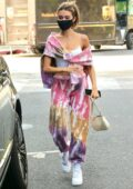 Madison Beer wears colorful tie-dye sweatsuit as she steps out in West Hollywood, California