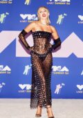 Miley Cyrus attends the 2020 MTV Video Music Awards in New York City