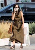 Abigail Spencer spotted running errands around Brentwood, California