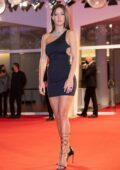 Adèle Exarchopoulos attends the Premiere of 'Mandibules' during the 77th Venice Film Festival in Venice, Italy