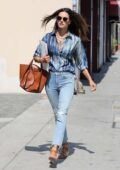 Alessandra Ambrosio sports casual chic look as she leaves the Immigration offices in Los Angeles