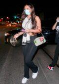 Anastasia Karanikolaou seen leaving Delilah in West Hollywood, California