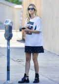 Ashley Benson goes shopping for home décor at Renaissance Design Studio in Los Angeles