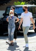 Ashley Tisdale and Christopher French spotted while they look for new houses in Los Angeles
