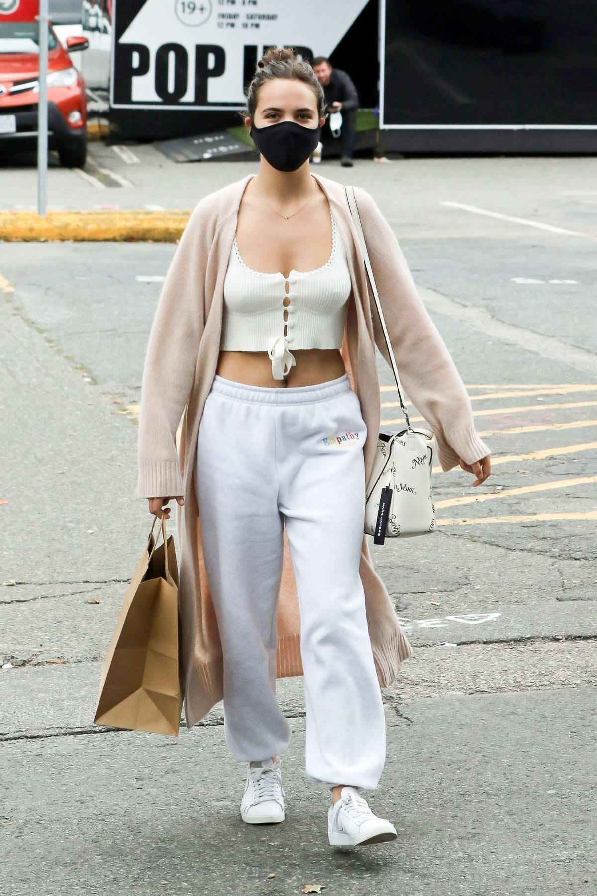 Bailee Madison looks casual and cozy as she steps out in Vancouver, Canada