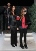Chantel Jeffries and Andrew Taggart spotted while attending a party in Hollywood, California