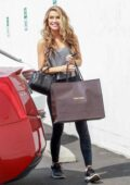 Chrishell Stause spotted in camo leggings as she arrives at DWTS Studio in Los Angeles