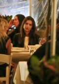 Emily Ratajkowski steps out for dinner with friends in New York City