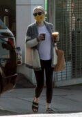 Emma Roberts goes on a solo coffee run in Los Feliz, California