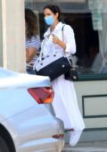 Katharine McPhee steps out in all-white for some shopping in Los Angeles