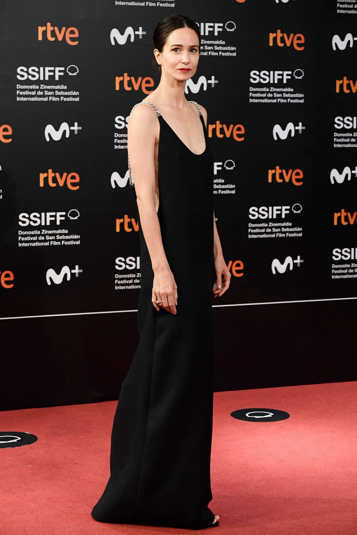 Katherine Waterson attends the Premiere of 'Forgotten We'll Be' during the 68th San Sebastian Film Festival in San Sebastian, Spain