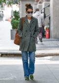 Katie Holmes keeps things casual as she steps out in New York City