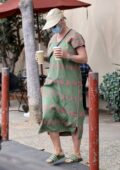 Katy Perry seen for the first time since giving birth to baby Daisy Dove Bloom in Santa Barbara, California