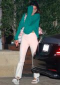 Kendall Jenner seen leaving a dinner date with Devin Booker at SoHo House in Malibu, California